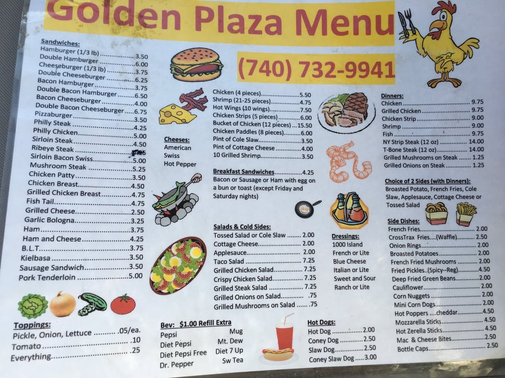 Golden Plaza: 135 Main St, Belle Valley, OH