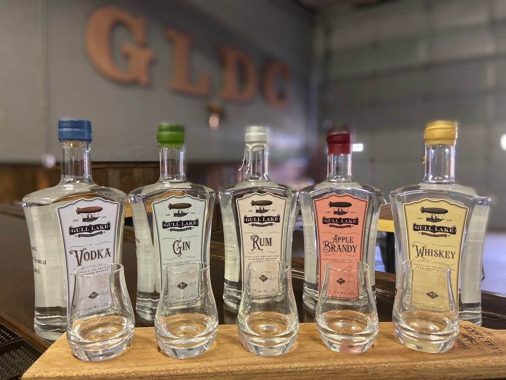 Gull Lake Distilling Company: 92-100 E Michigan Ave, Galesburg, MI