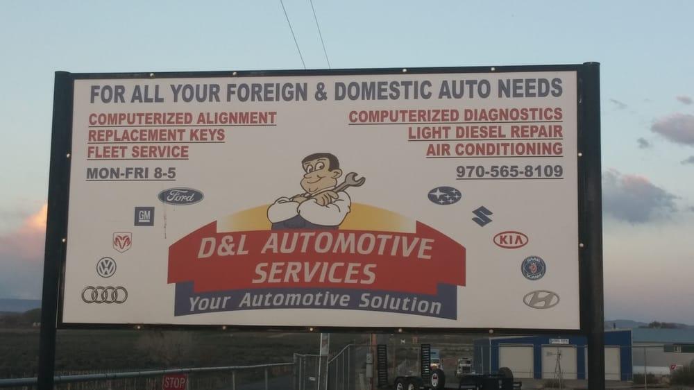 D & L Service: 26050 Road L, Cortez, CO