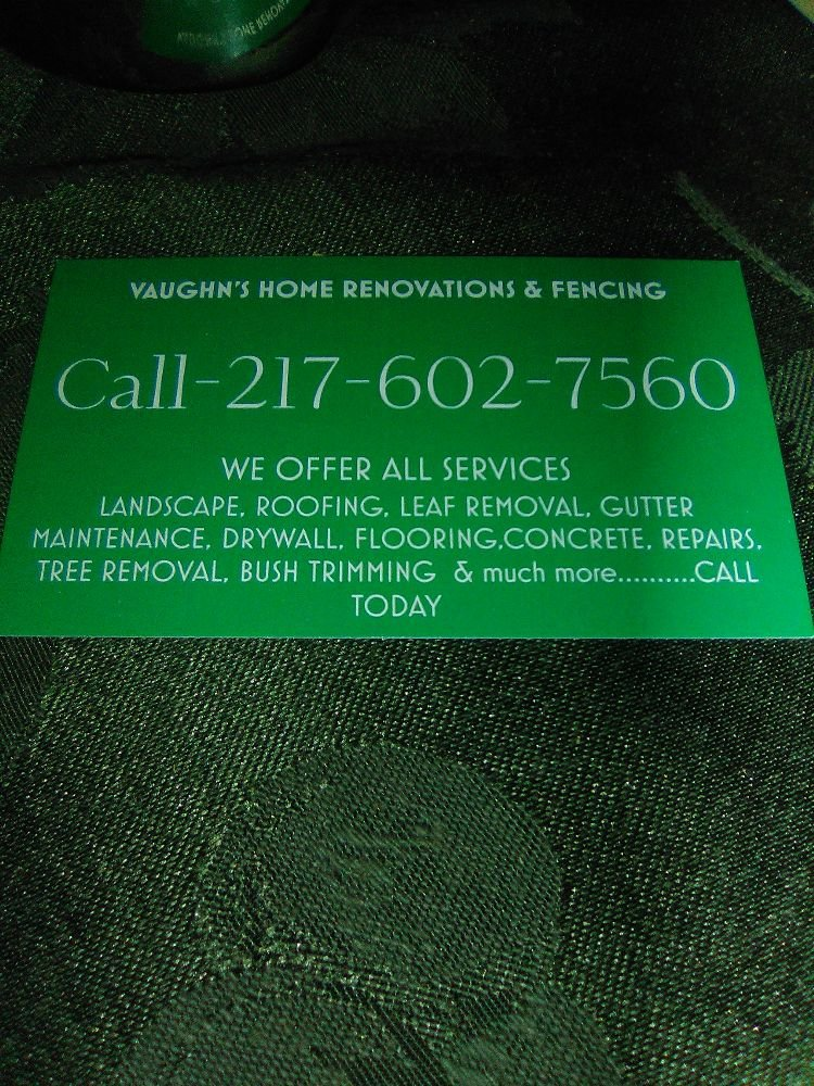 Vaughns Home Renovations & Fencing: Collinsville, IL