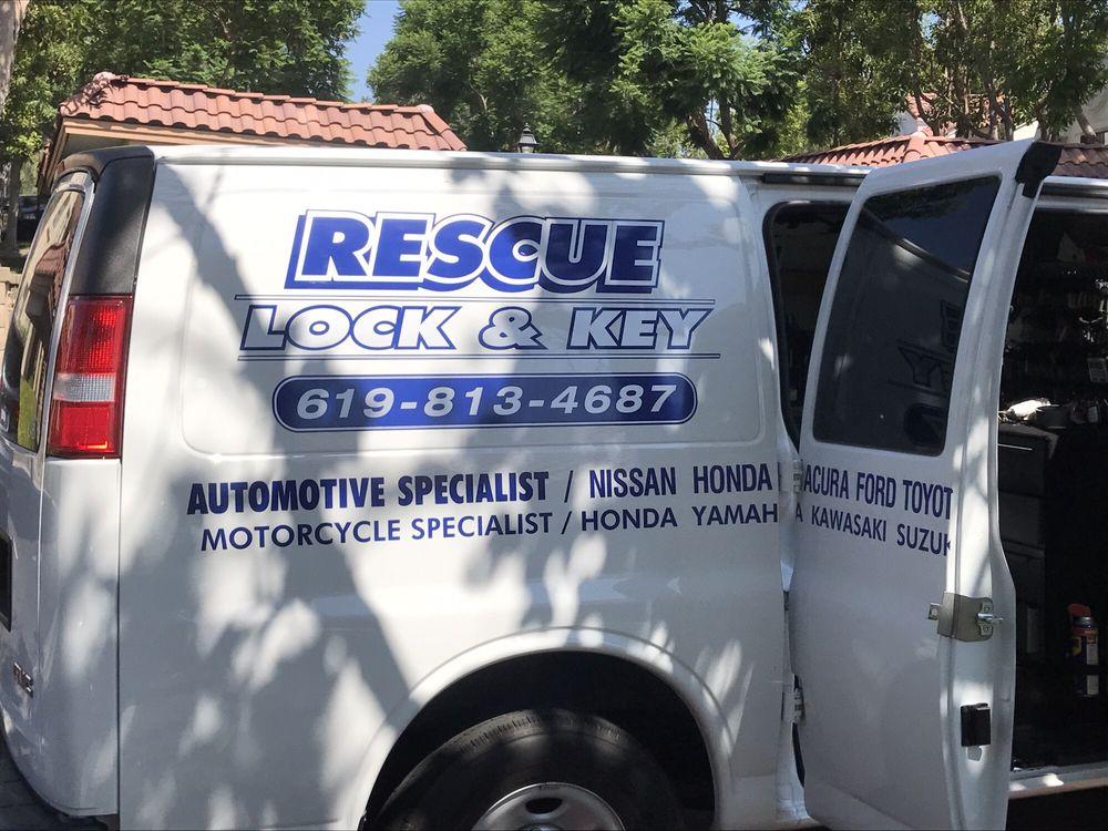Rescue Lock & Key