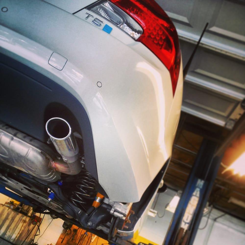 Volvo Repair Orlando: H&R Springs, Bilstein HD's , IPD Rear Sway On A Polestar