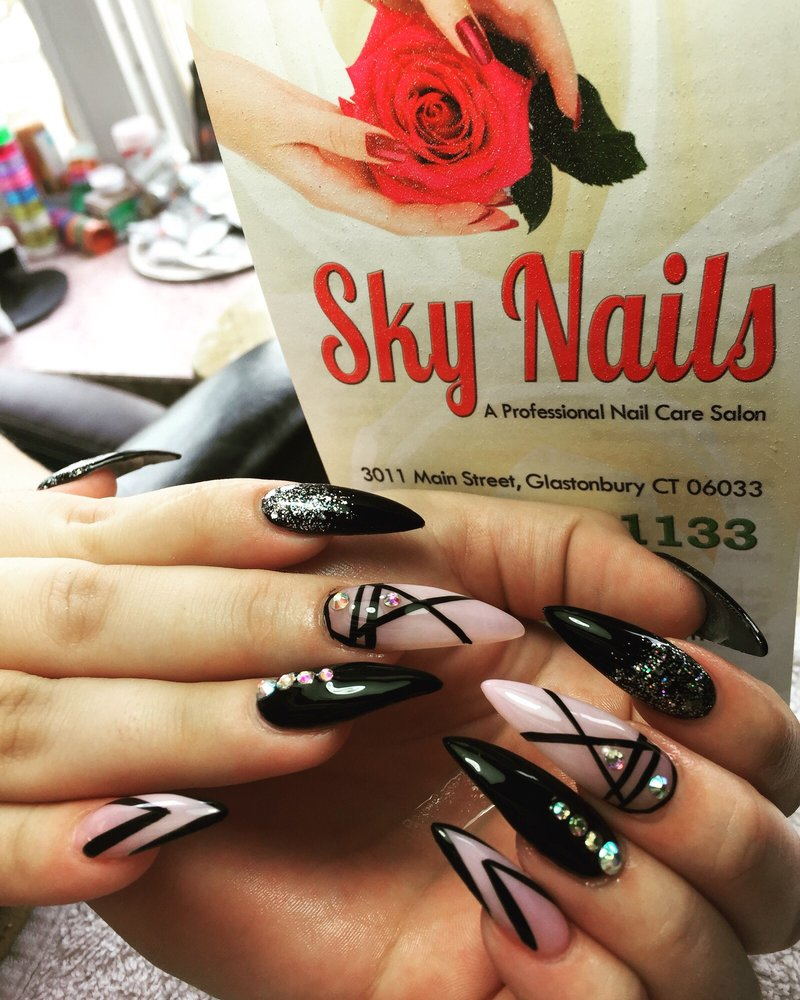 Nails by tina glastonbury