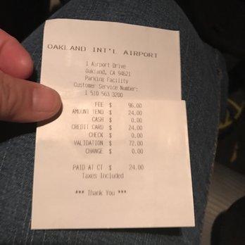 Airport parking coupon oakland ca