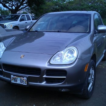 Photo of Ridge Way Motors - Aiea, HI, United States. Grabbing a Porsche