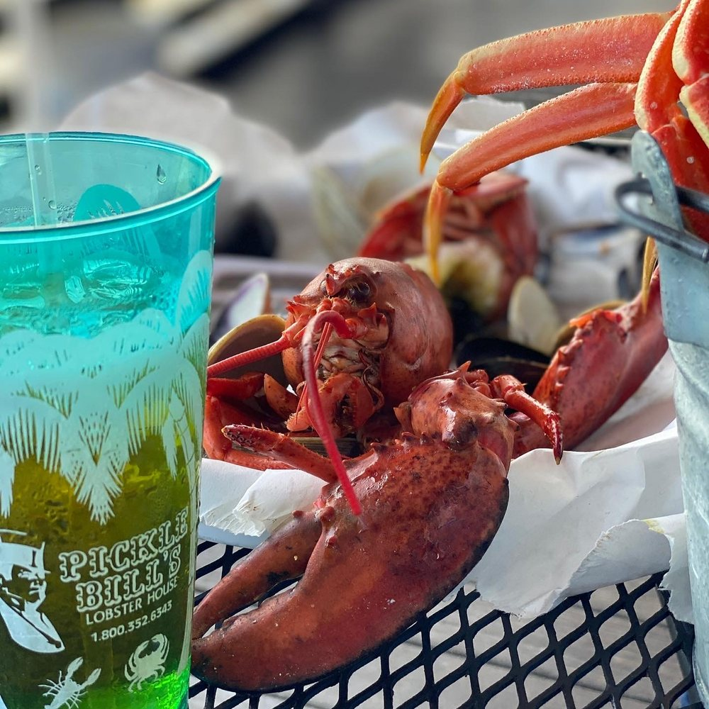 Social Spots from Pickle Bill's Lobster House