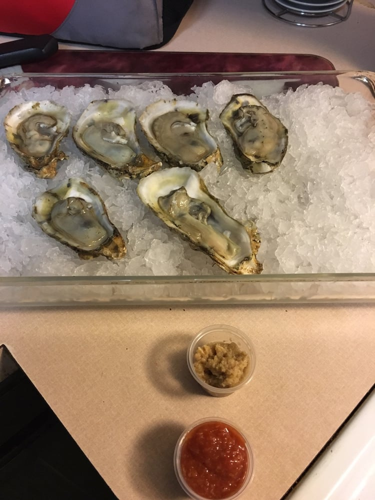 Oh yea these are the first oysters i 39 ve ever shucked for Wholey s fish market