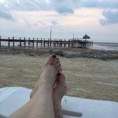 Photo Of Seashell Beach Resort Marathon Fl United States The Ocean Is