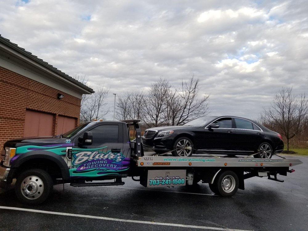 Blair's Towing & Recovery: 112 W Jefferson St, Falls Church, VA