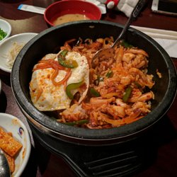 Photo Of Four Seasons Ithaca Ny United States Ojingeo Dolsot Bibimbap