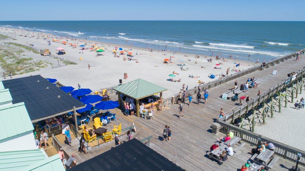 Photo Of Pier 101 Restaurant Bar Folly Beach Sc United States