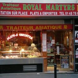 Royal martyrs traiteur 16 rue des martyrs 9 me paris for Restaurant le miroir rue des martyrs