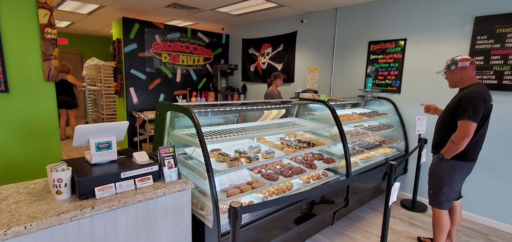 Okaloosa Donuts: 29 D Miracle Strip Pkwy SW, Fort Walton Beach, FL