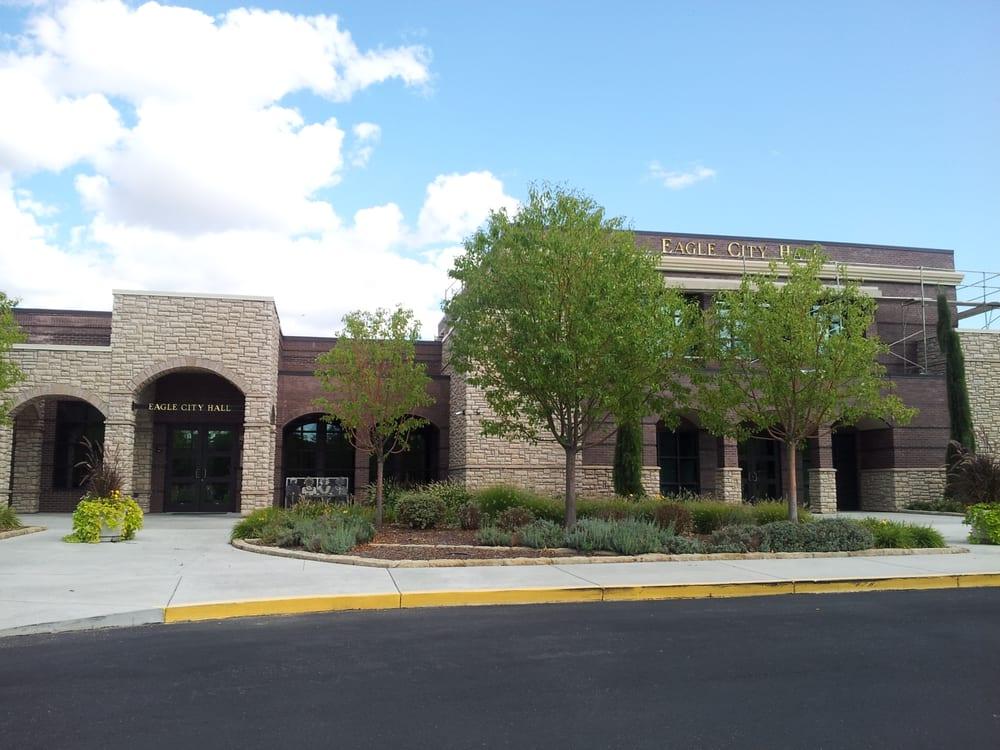 Eagle City Hall Public Services Government 660 E Civic Ln