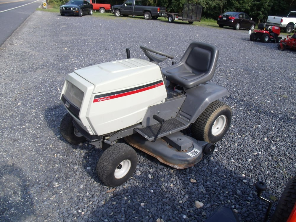 White tractor for sale lt 165 ohv hydro matic yelp for Small motor repair near me