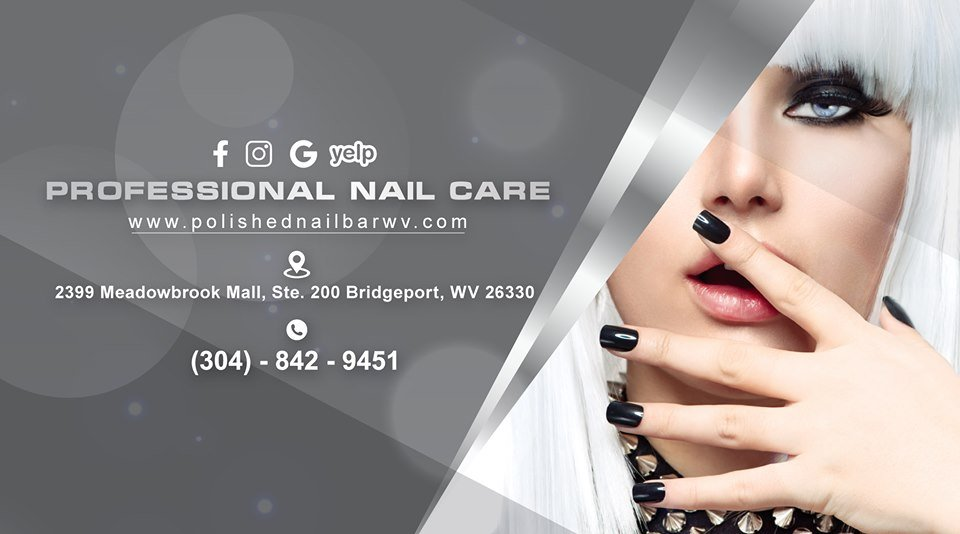 Polished Nail Bar: 2399 Meadowbrook Mall, Bridgeport, WV