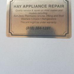 Hay Appliance Repair Appliances Amp Repair Lake Balboa