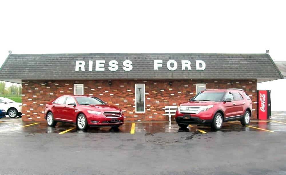 Riess Ford Sales: 768 State Rt 13, Marissa, IL