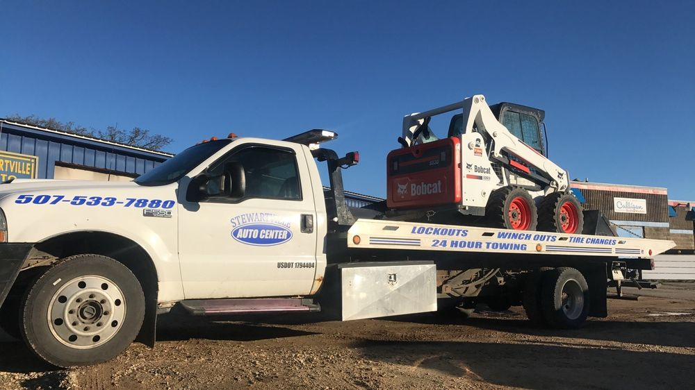 SAC Towing & Recovery: 100 10th St NW, Stewartville, MN