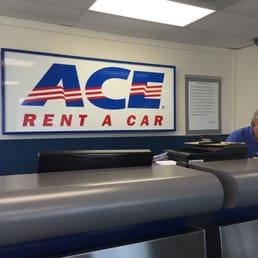 Ace Rent A Car  Airport Rd Jacksonville Fl