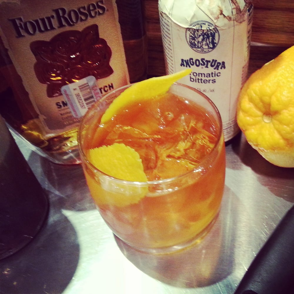 The Texas Old Fashioned The Yellow Rose Signature Cocktail Yelp