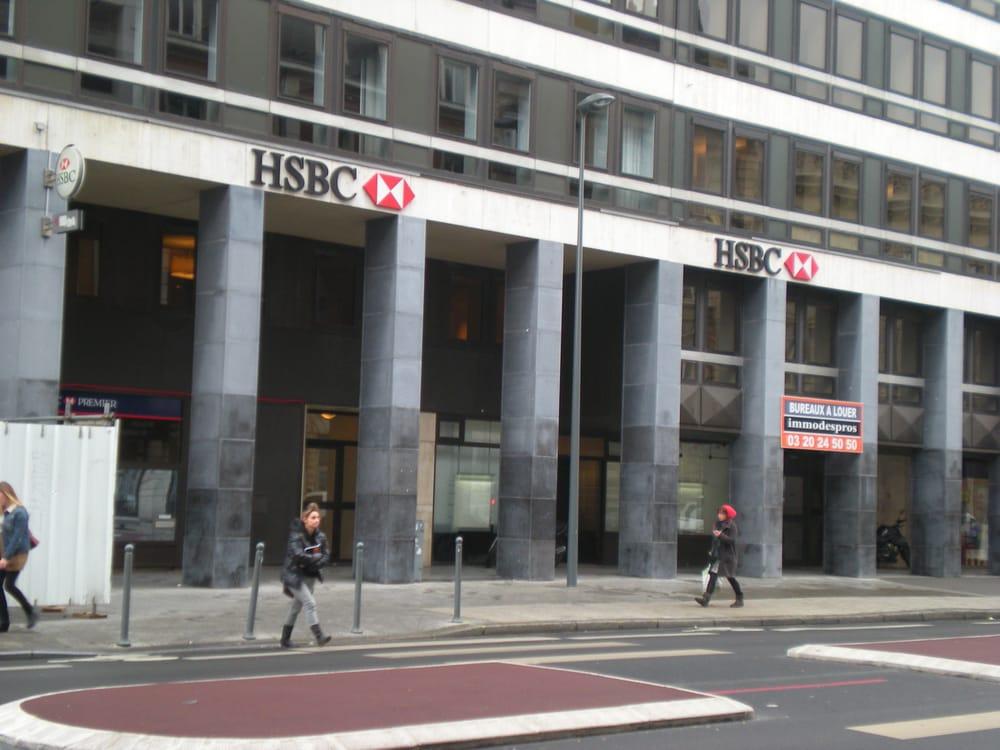 Hsbc succursale banken en kredietinstellingen 104 rue for Route nationale 104