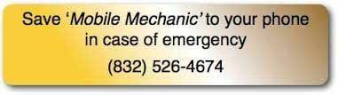 Jeff Garrison Mobile Mechanic: 4903 Chase More Dr, Bacliff, TX