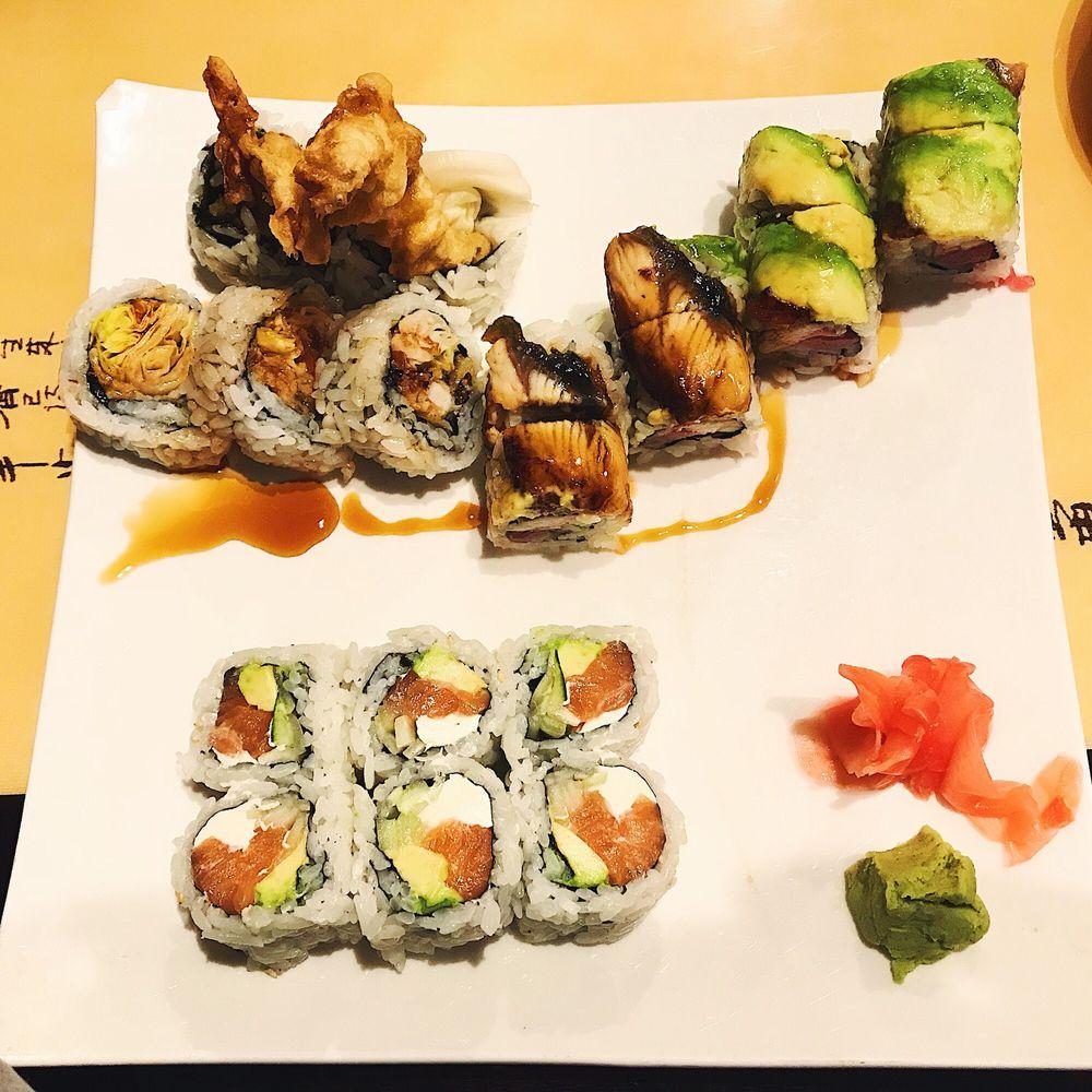 Ninja Sushi Bar & Japanese Restaurant: 1400 Kempsville Rd, Chesapeake, VA