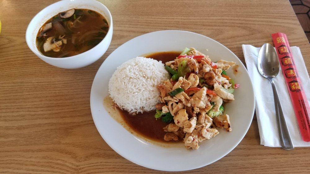 Polly's Thai Food: 402 SW Sheridan Rd, Lawton, OK
