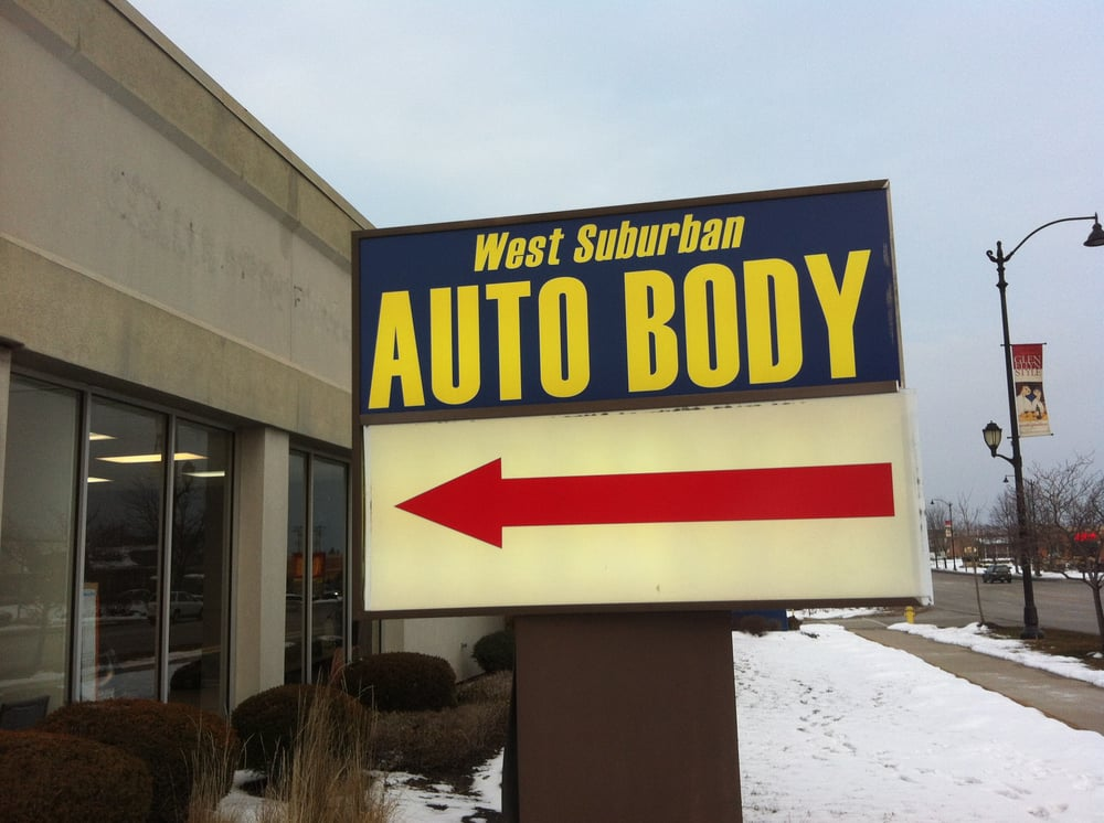 Car Repair Shops Near Me >> West Suburban Auto Body Inc - 13 Reviews - Body Shops - 420 Roosevelt Rd, Glen Ellyn, IL - Phone ...
