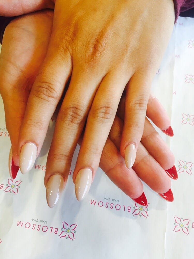 Christian Louboutin inspired nails! Girls love red bottoms! - Yelp