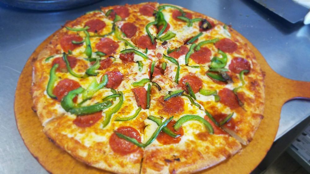 Food from Metro Pizza and Sandwiches