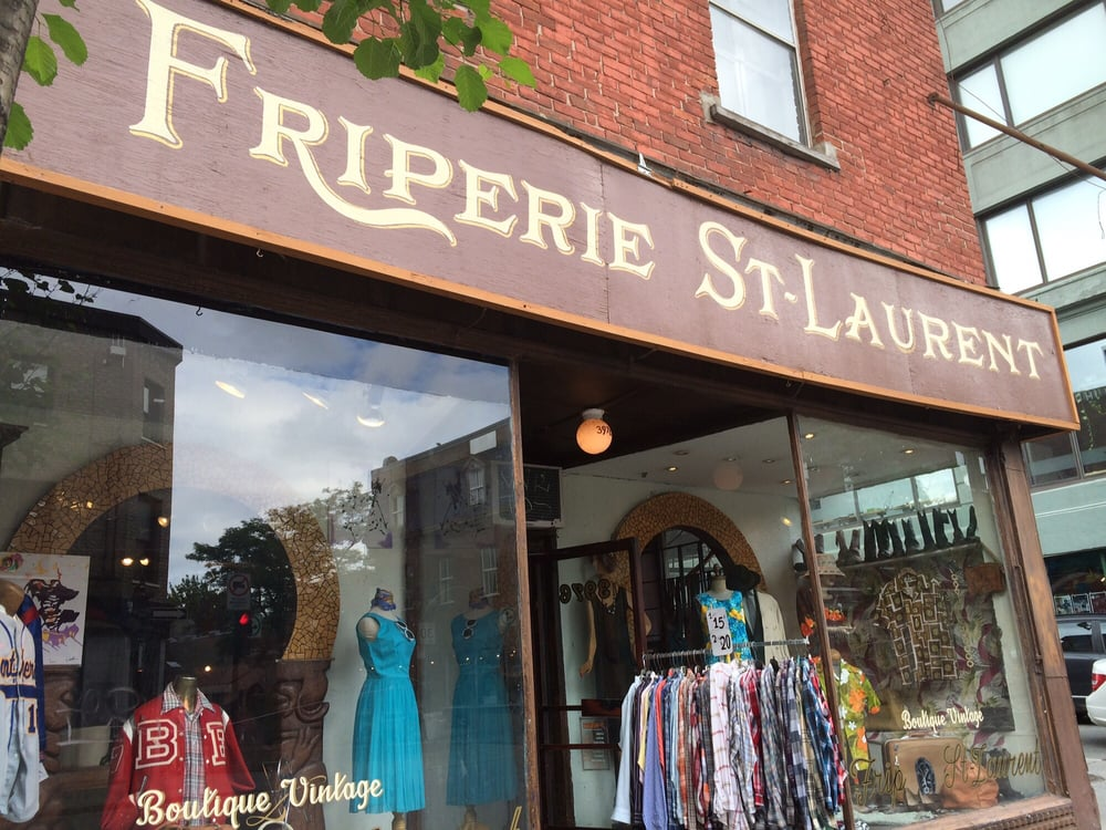 Friperie saint laurent 11 fotos secondhand 3976 for Boutique meuble rue st laurent montreal