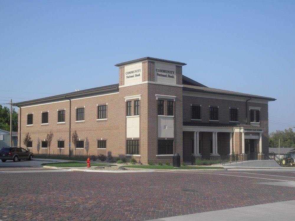 Community National Bank: 210 Main St, Seneca, KS