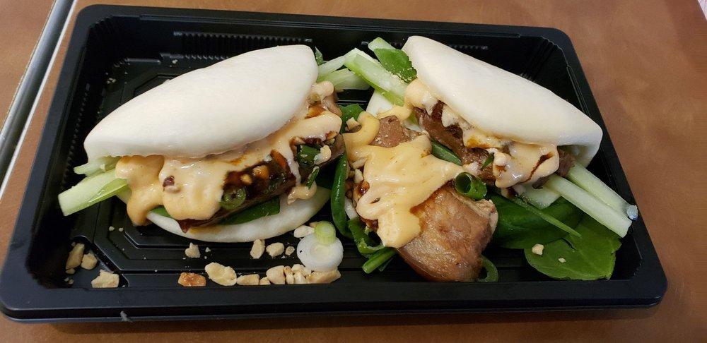 Food from Fang's Poke & Bao