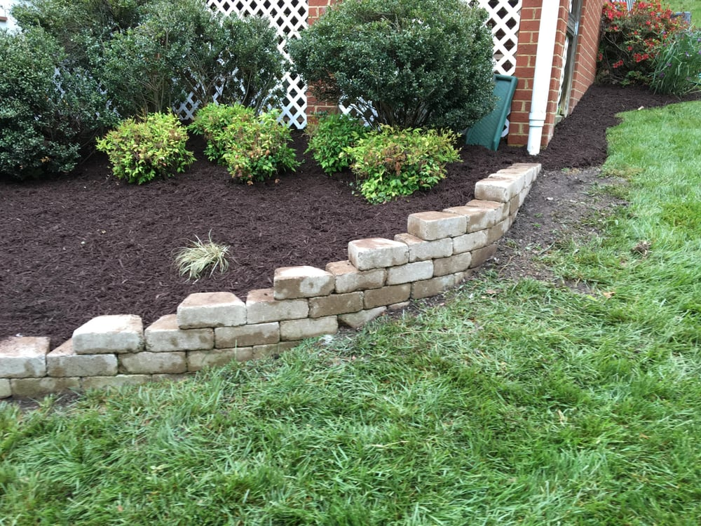 Photo Of Austin S Lawn Care Landscaping Mechanicsville Va United States Stepped
