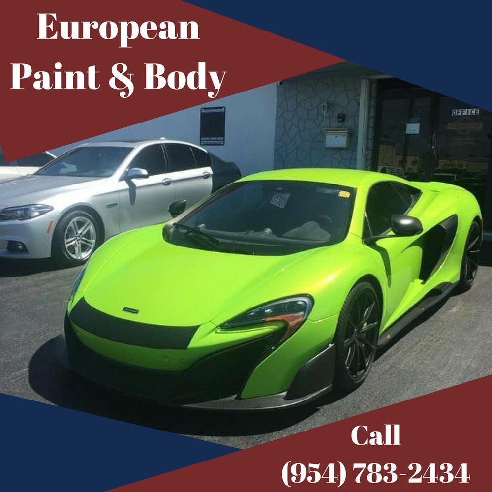 European Paint Body Pompano Beach Fl