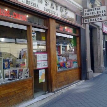 Ensayos librer as calle de estudiantes 4 ciudad universitaria madrid espa a n mero de - Libreria universitaria madrid ...