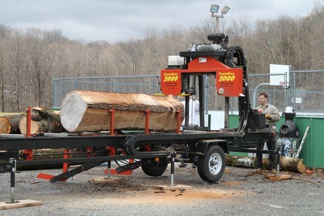 Mobile Sawmill NJ: Andover, NJ