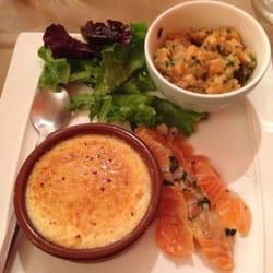 La Cocotte - Montpellier, France. Trilogie de saumon