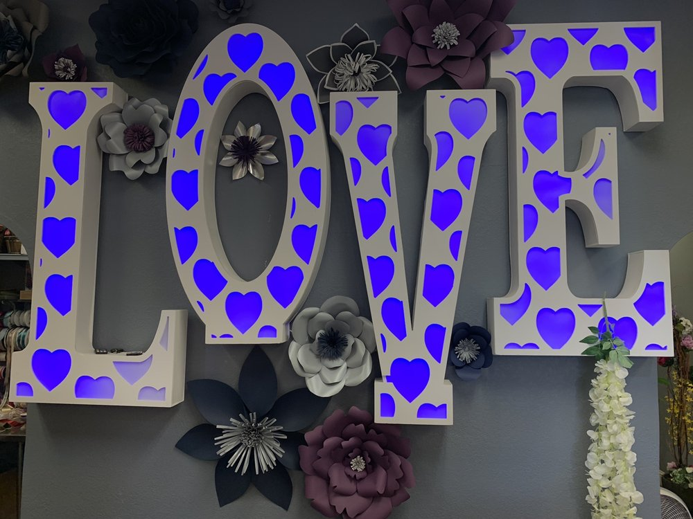 #InLove Flower Shop & Home Decor: 2767 W Shaw Ave, Fresno, CA