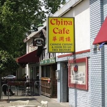 China Cafe J St Menu