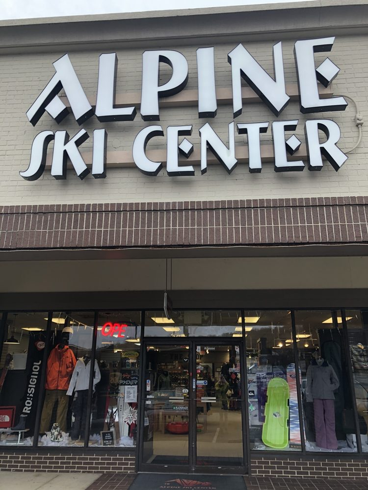 Alpine Ski Center: 30 Orchard Park Dr, Greenville, SC