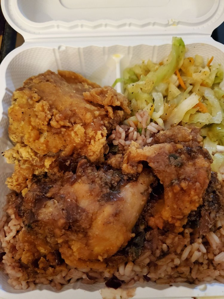 Food from Caribbean Flavaz
