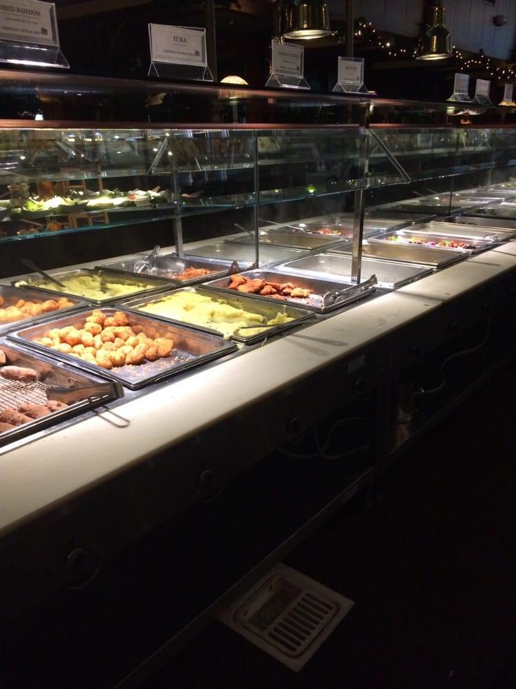 The mini food bar rice pasta mashed potatoes and veggies yelp - Mini bar cuisine ...