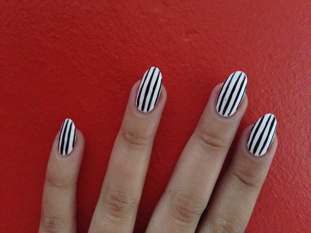 Acrylic with pinstripe designs yelp photo of nail design studio vallejo ca united states acrylic with pinstripe prinsesfo Gallery