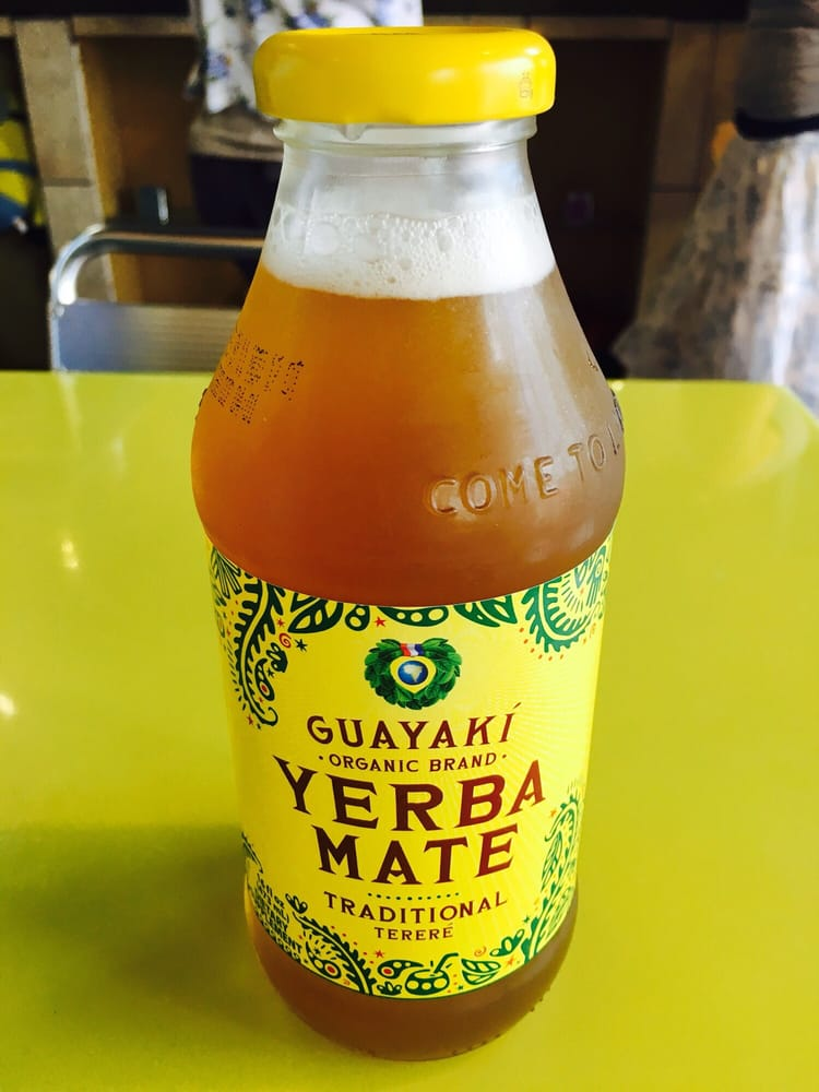 Bottled organic yerba mate served cold it 39 s pretty good for Penn ave fish co