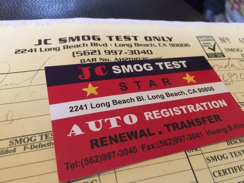 JC Smog Test Only Smog Check Stations 2241 Long Beach