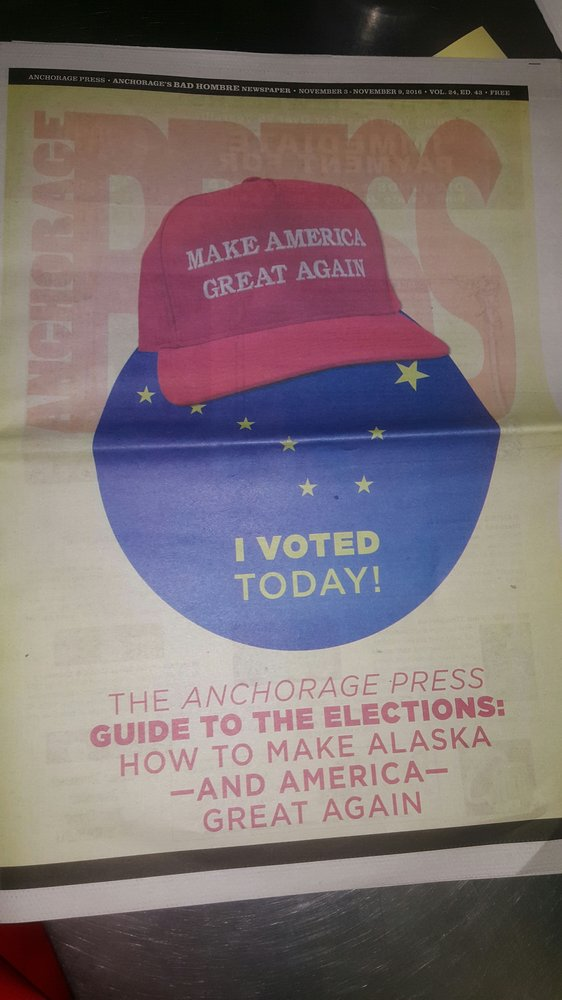 Anchorage Press Newspaper