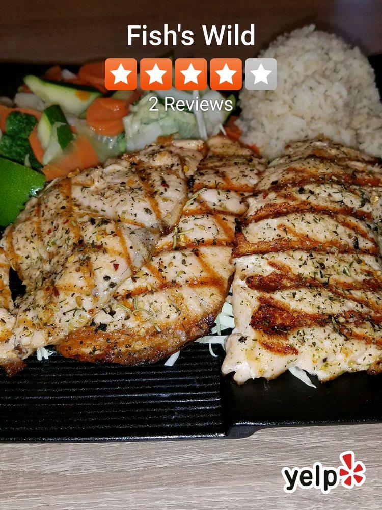 Fish s wild 62 foto e 54 recensioni piatti a base di for Fish s wild menu